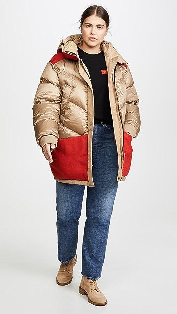 Woolrich W's 双面穿派克大衣