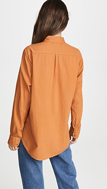 XIRENA Beau 系扣衬衫