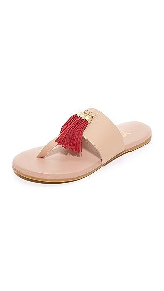 Yosi Samra Rachelle 流苏夹趾凉鞋
