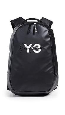 Y-3 Logo Backpack,Black