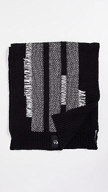 Y-3 Knit Scarf,Black