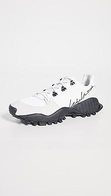 Y-3 Kyoi Trail Sneakers,White/Black/White