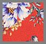 雏菊花束红色