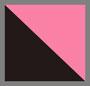 粉色蟒蛇纹/黑色