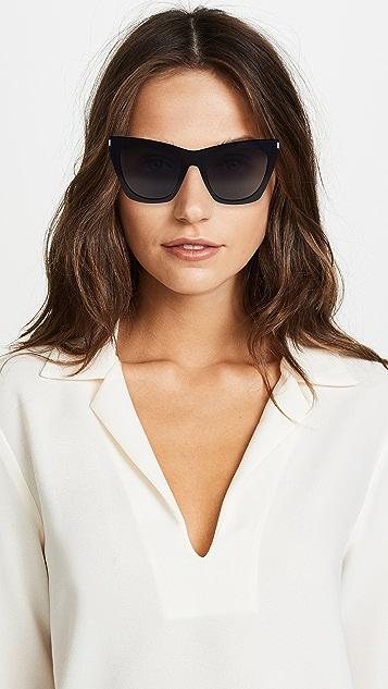 Saint Laurent Kate 猫眼太阳镜
