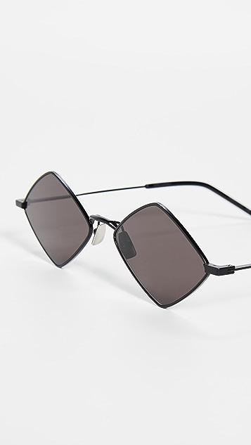 Saint Laurent Lisa 金属猫眼太阳镜