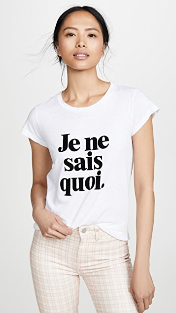 Zadig & Voltaire Skinny JNSQ T 恤