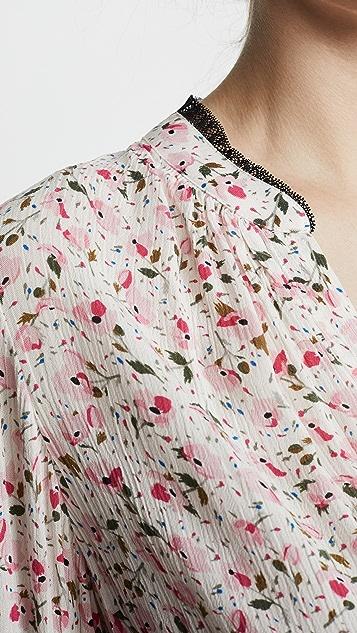 Zadig & Voltaire Tink 印花女式衬衫