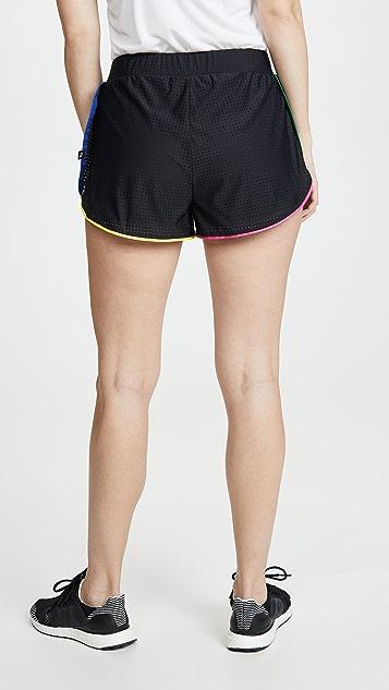 Terez 网眼短裤