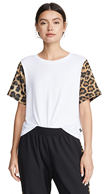 Terez 印花袖 T 恤