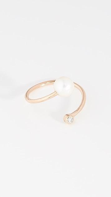 Zoe Chicco 淡水养殖珍珠个性戒指