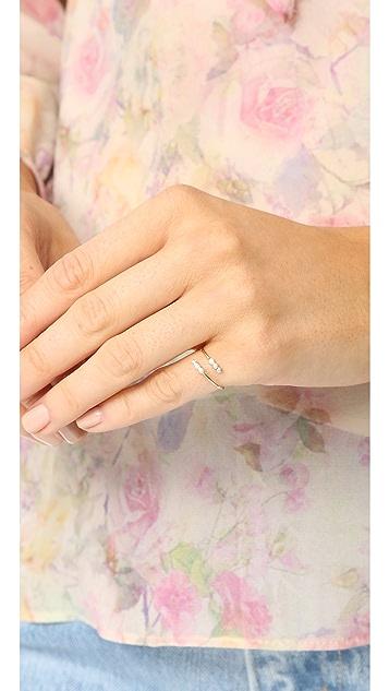 Zoe Chicco 14k 包镶钻石戒指