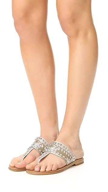 Zoe Chicco 14K 金垂式钻石踝链