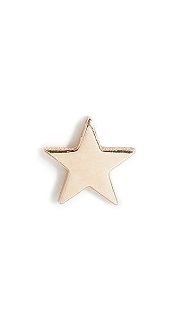 Zoe Chicco 14k 单只小星星耳钉