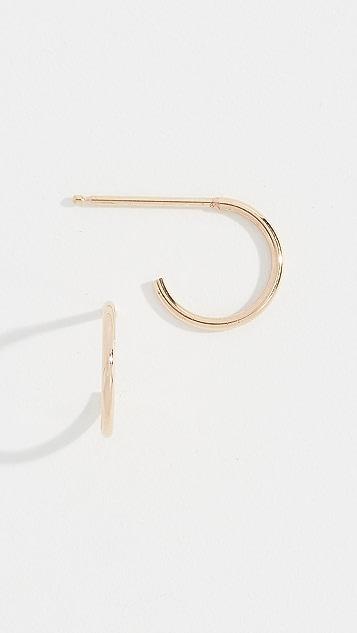 Zoe Chicco 14K 小巧贴耳式耳环