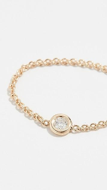 Zoe Chicco 14K 金钻石戒指