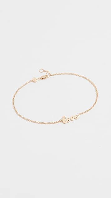 Jennifer Zeuner Jewelry Love 脚链