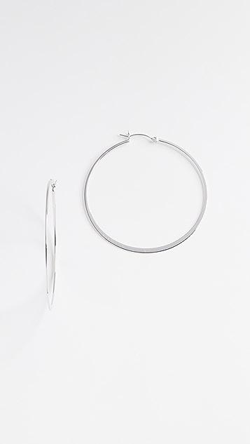 Jennifer Zeuner Jewelry 小号圆耳环