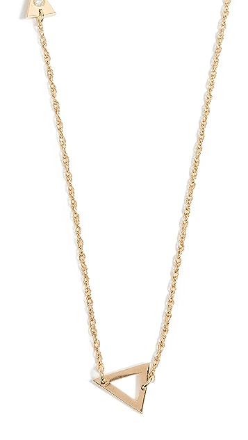 Jennifer Zeuner Jewelry Sasha 钻石项链