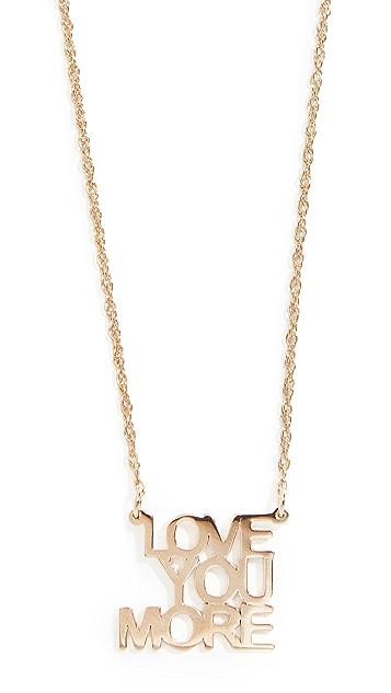 Jennifer Zeuner Jewelry Love You More 项链