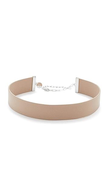 Jennifer Zeuner Jewelry Ivy Whit 短项链