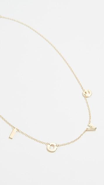 Jennifer Zeuner Jewelry Parker 项链