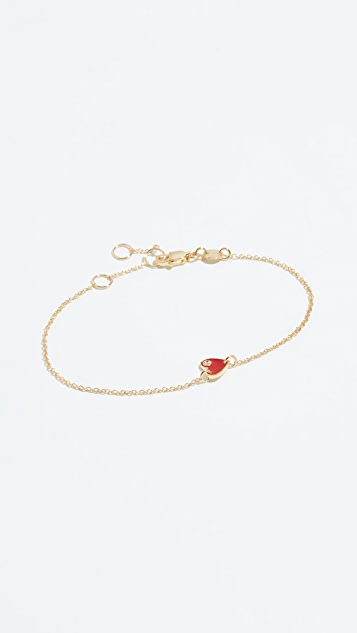 Jennifer Zeuner Jewelry Mia 迷你心形手链