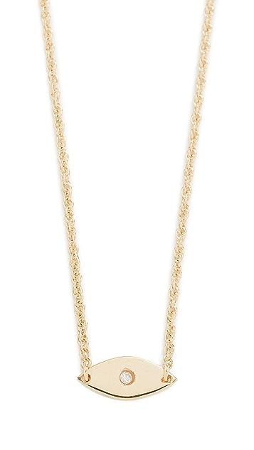 Jennifer Zeuner Jewelry Nazar 钻石项链