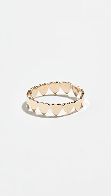 Jennifer Zeuner Jewelry Mia 迷你永恒戒指