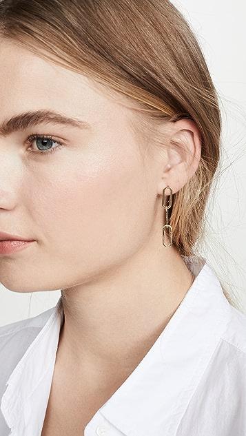 Jennifer Zeuner Jewelry Meadow 耳环