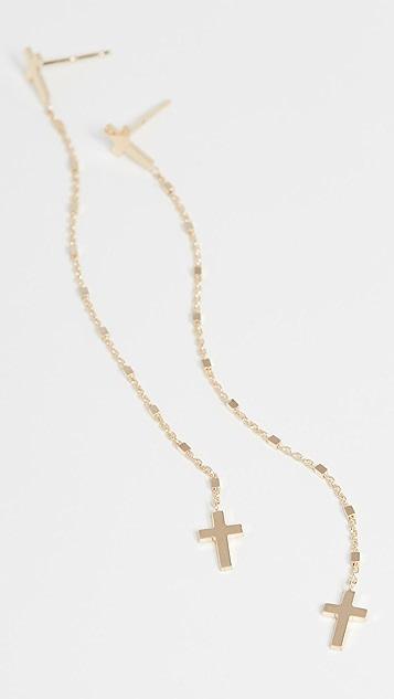 Jennifer Zeuner Jewelry Tiegen 耳环