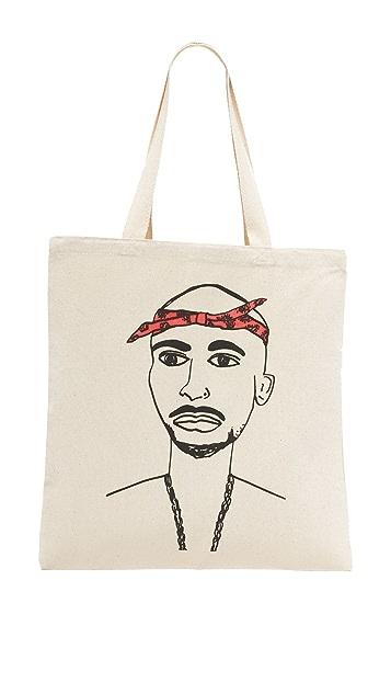 Zhuu Tupac 手提袋