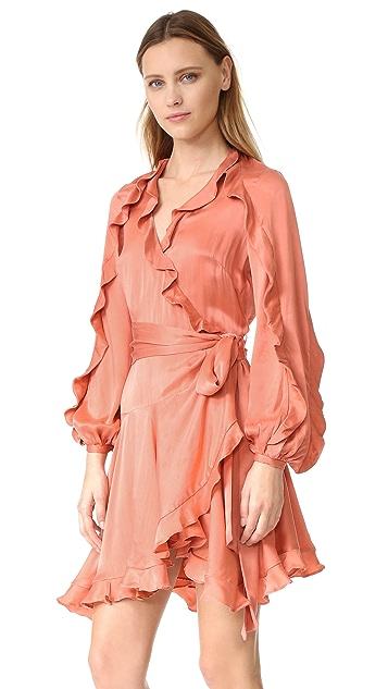 Zimmermann Winsome Flutter 长袍式连衣裙