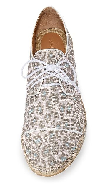 Zimmermann 印花编织底运动鞋