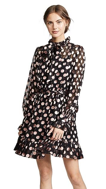 Zimmermann Unbridled 绑带领口连衣裙