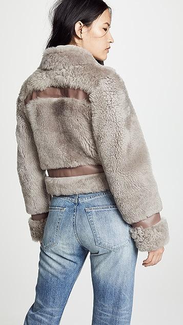 Zimmermann Fleeting 连毛羊皮夹克