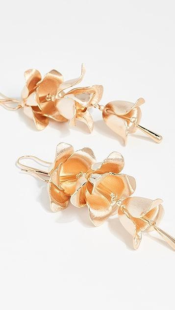 Zimmermann 兰花花蕾吊坠耳环