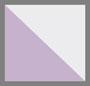 象牙白/淡紫色