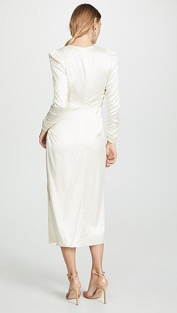 Zimmermann 垂坠皱褶连衣裙