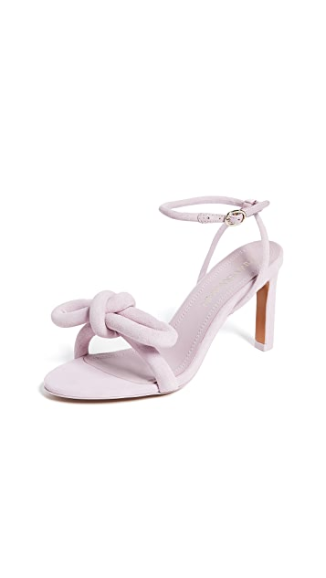Zimmermann 立体蝴蝶结鞋跟凉鞋