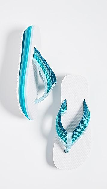 Zimmermann 蝴蝶结夹趾拖鞋
