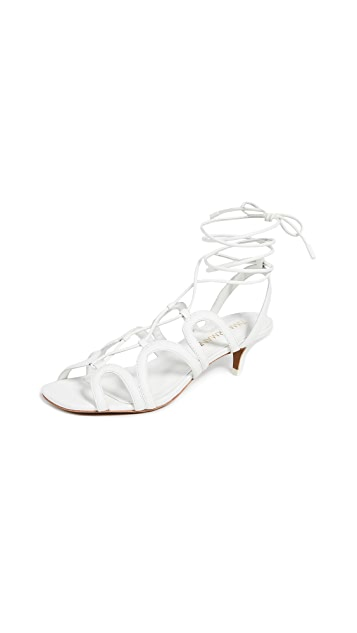 Zimmermann 扇形猫跟凉鞋