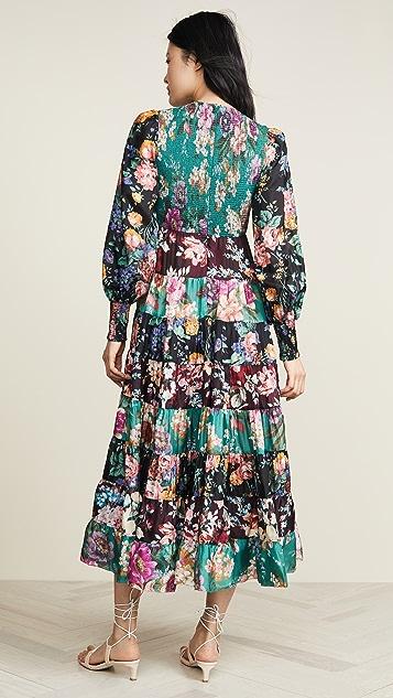 Zimmermann Allia 褶皱长裙