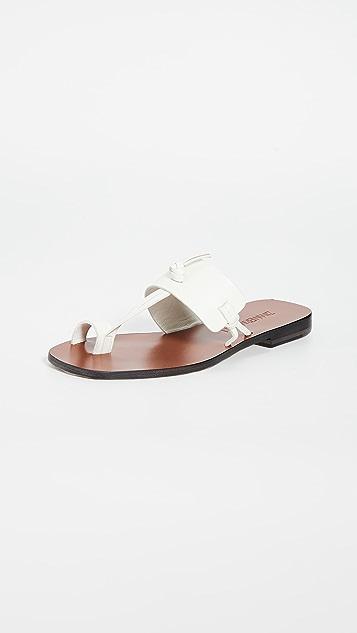 Zimmermann 扭结凉鞋