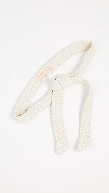 Zimmermann 梭织绳索绑带长腰带