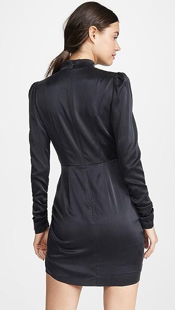 Zimmermann Espionage 真丝垂褶连衣裙