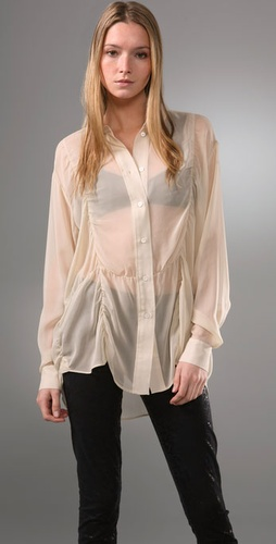 Acne Shining Crystal Blouse