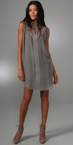 Adam Circle Tank Dress With Cutouts