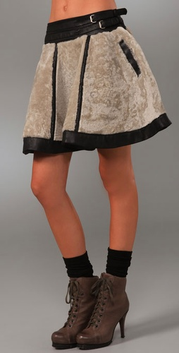 Adam Circle Skirt With Double Belt