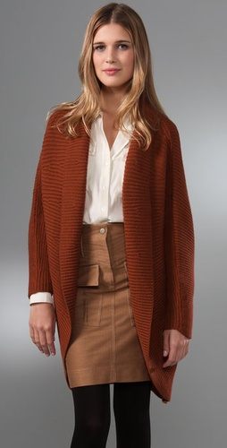 Adam Wrap Sweater With Dolman Sleeves